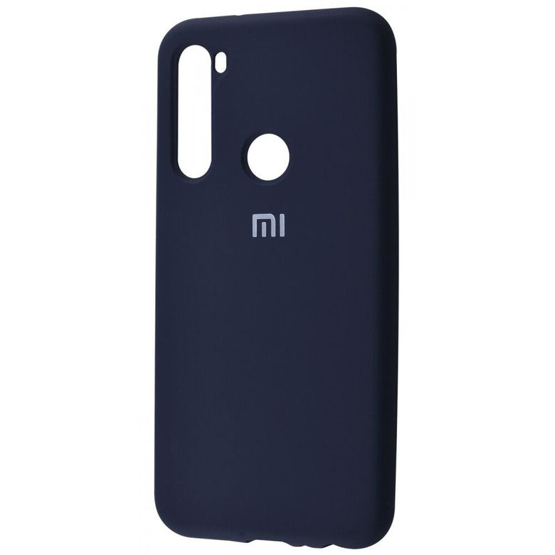 Чехол-бампер Xiaomi Silicone Cover для Xiaomi Redmi Note 8 Midnight Blue