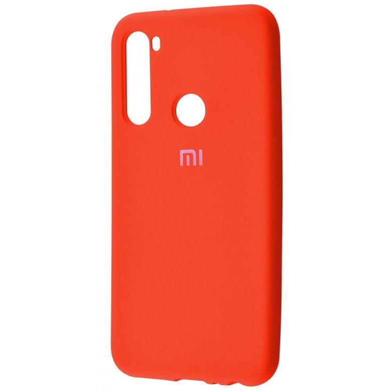 Чехол-бампер Xiaomi Silicone Cover для Xiaomi Redmi Note 7 Orange