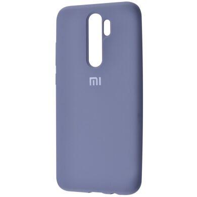 Чехол-бампер Xiaomi Silicone Cover для Xiaomi Redmi 8 Lavender Grey