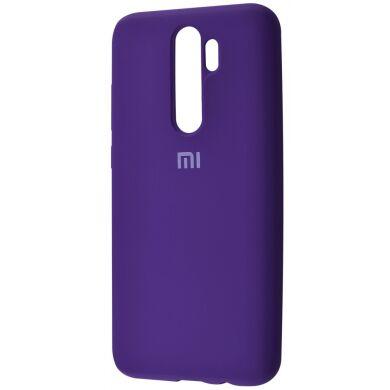 Чехол-бампер Xiaomi Silicone Cover для Xiaomi Redmi 8 Pink Purple