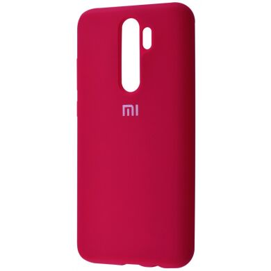 Чехол-бампер Xiaomi Silicone Cover для Xiaomi Redmi Note 8 Pro Rose Red