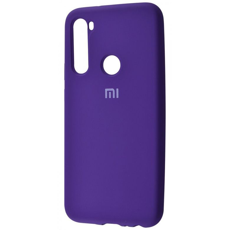 Чехол-бампер Xiaomi Silicone Cover для Xiaomi Redmi Note 7  Pink Purple