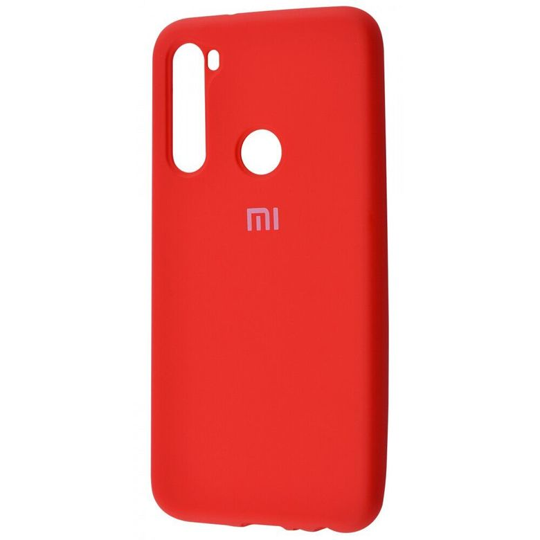 Чехол-бампер Xiaomi Silicone Cover для Xiaomi Redmi Note 7 Red