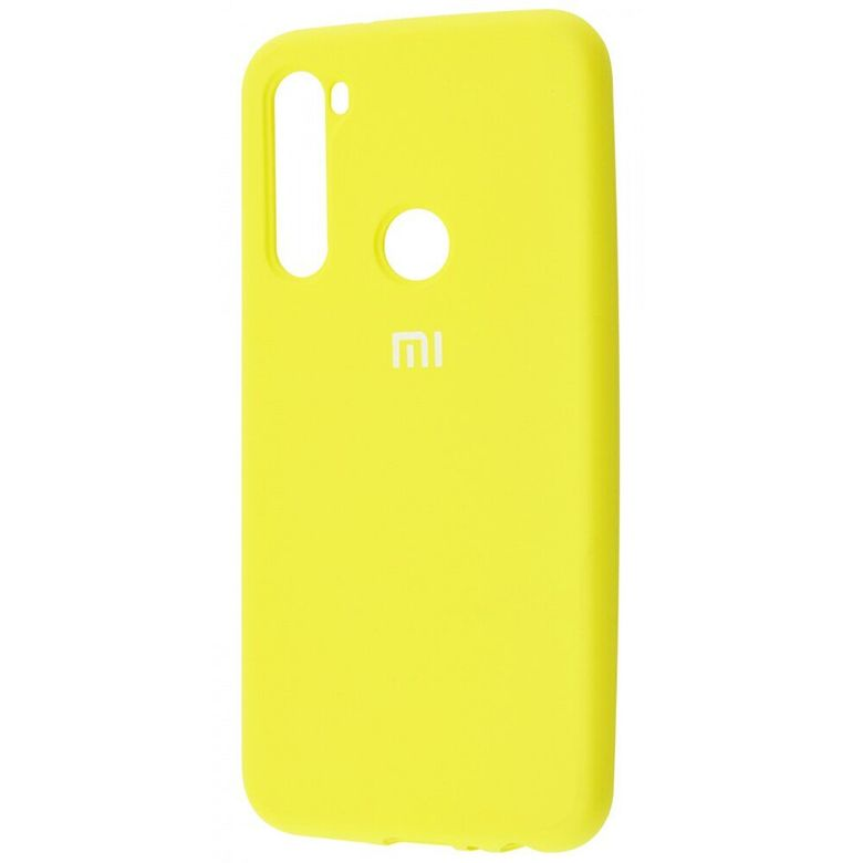 Чехол-бампер Xiaomi Silicone Cover для Xiaomi Redmi Note 7 Yellow