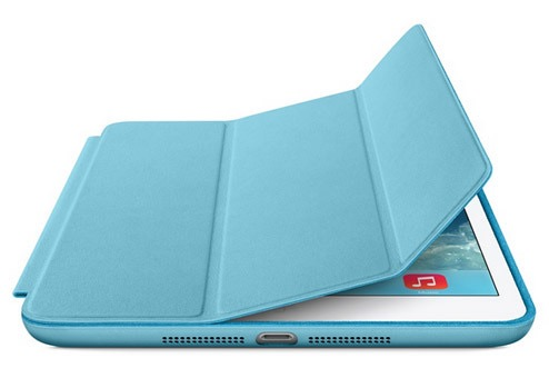 Чехол книжка-подставка Smart Case для iPad Pro 11 2018 (Голубой)