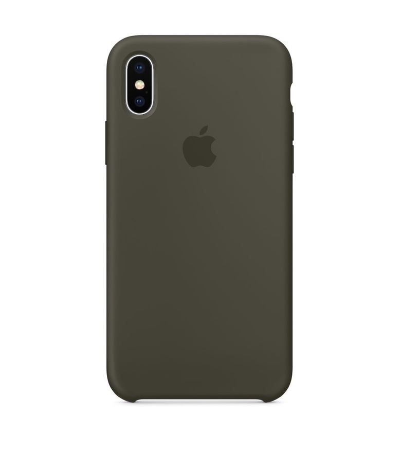 iPhone 7 Plus Silicone Case - Dark Olive
