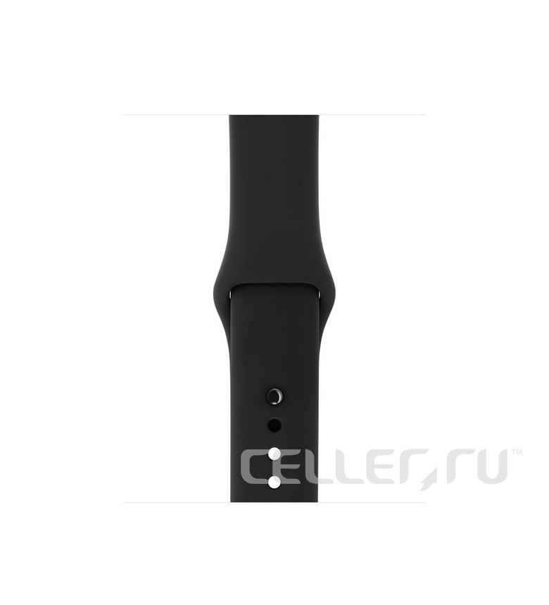 42mm Black Sport Band