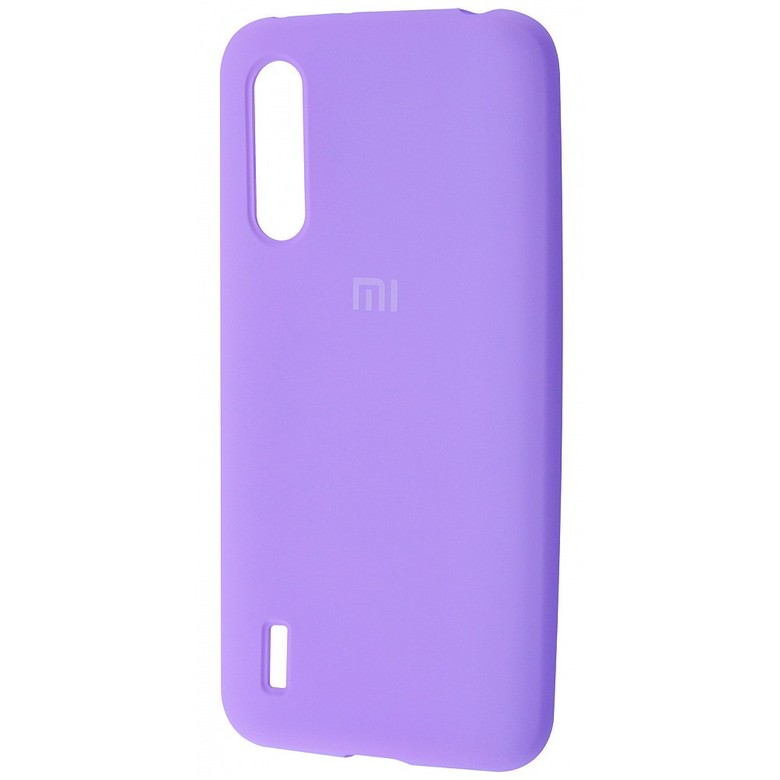 Чехол-бампер Xiaomi Silicone Cover для Xiaomi Mi 9 Lite/ Mi CC9 Light Purple