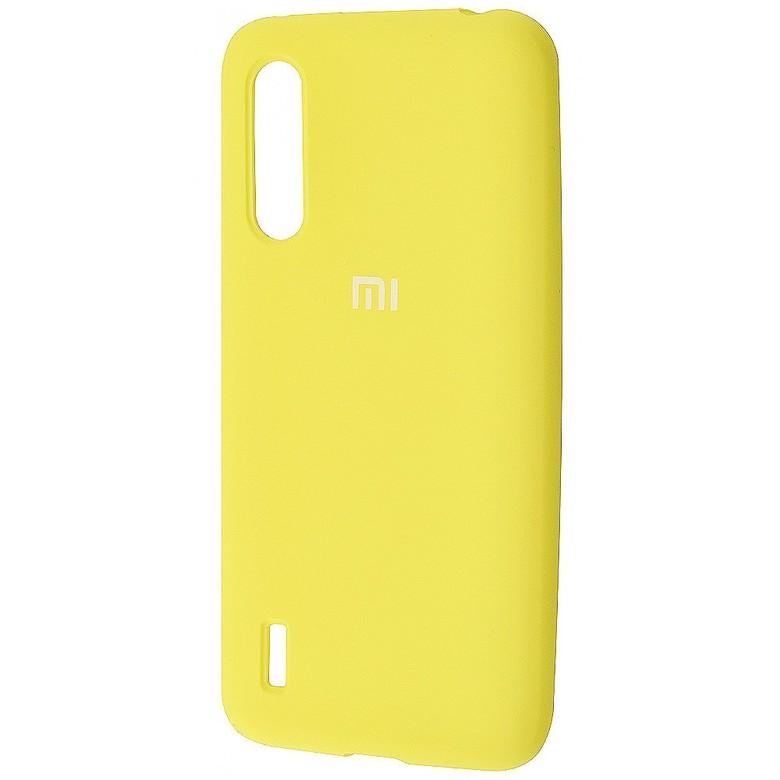 Чехол-бампер Xiaomi Silicone Cover для Xiaomi Redmi 7 Yellow