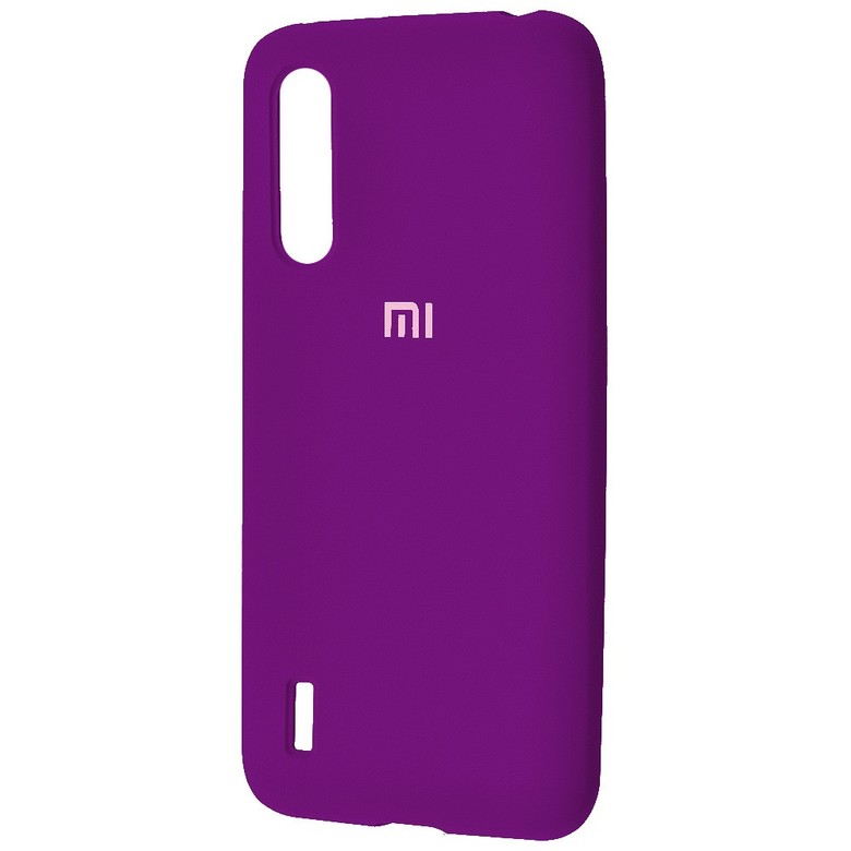 Чехол-бампер Xiaomi Silicone Cover для Xiaomi Redmi 7 Purple