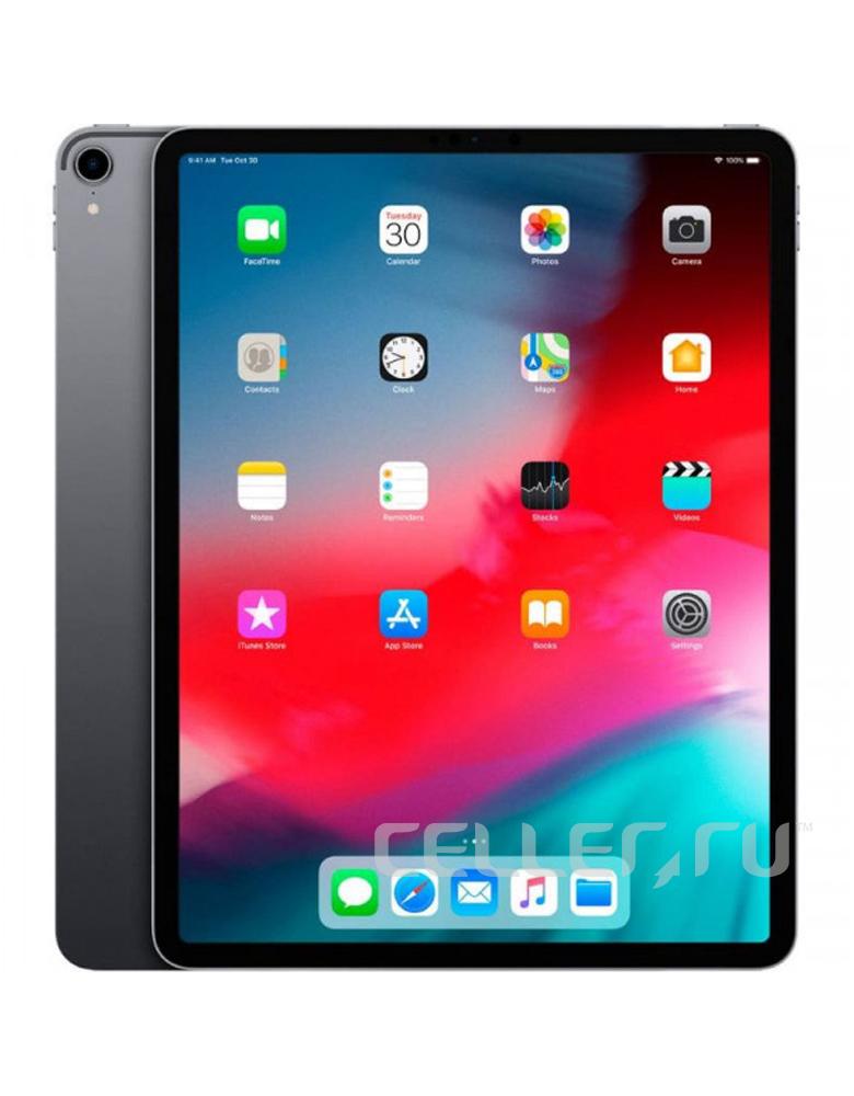 Планшет Apple iPad Pro 12.9 (2018) 256Gb Wi-Fi + Cellular Space Grey