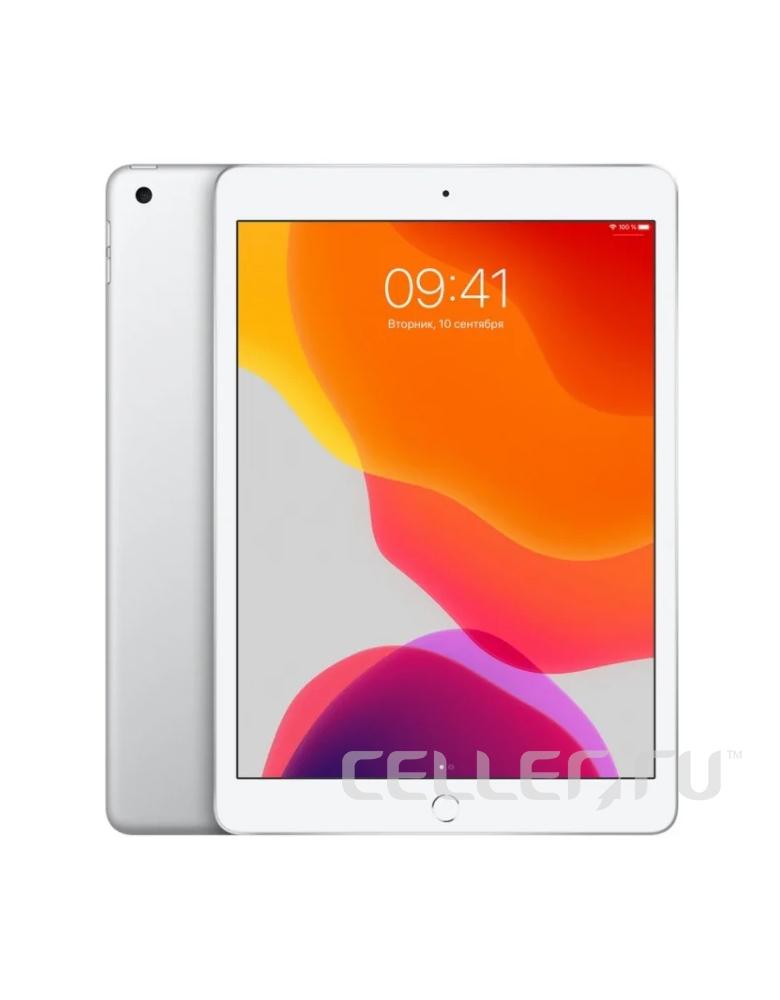 Планшет Apple iPad (2019) 128Gb Wi-Fi + Cellular Silver