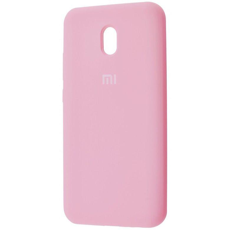 Чехол-бампер Xiaomi Silicone Cover для Xiaomi Redmi 7A Light Pink