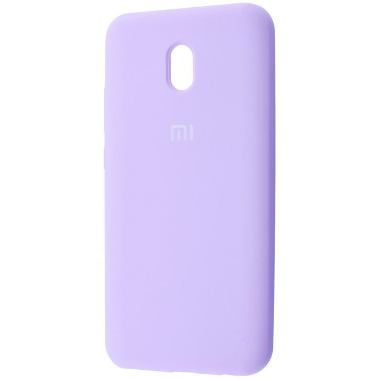 Чехол-бампер Xiaomi Silicone Cover для Xiaomi Redmi 8A Light Purple