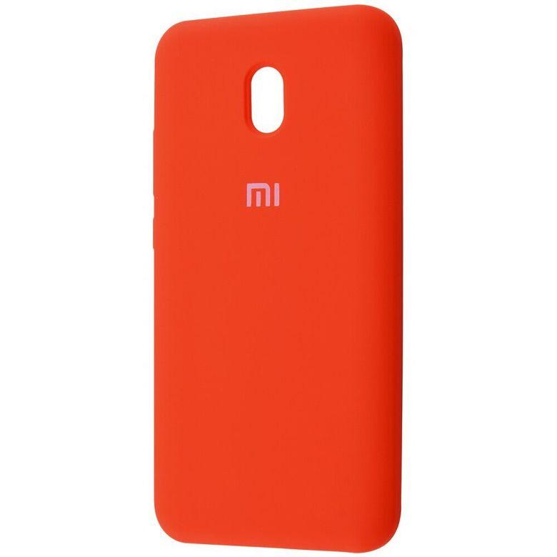 Чехол-бампер Xiaomi Silicone Cover для Xiaomi Redmi 7A Orange