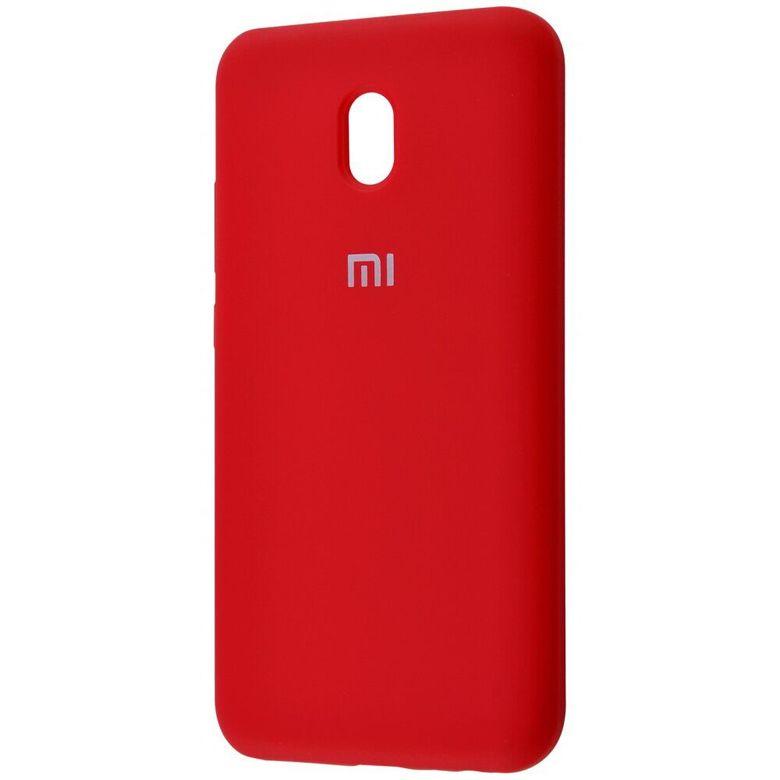 Чехол-бампер Xiaomi Silicone Cover для Xiaomi Redmi 7A Red