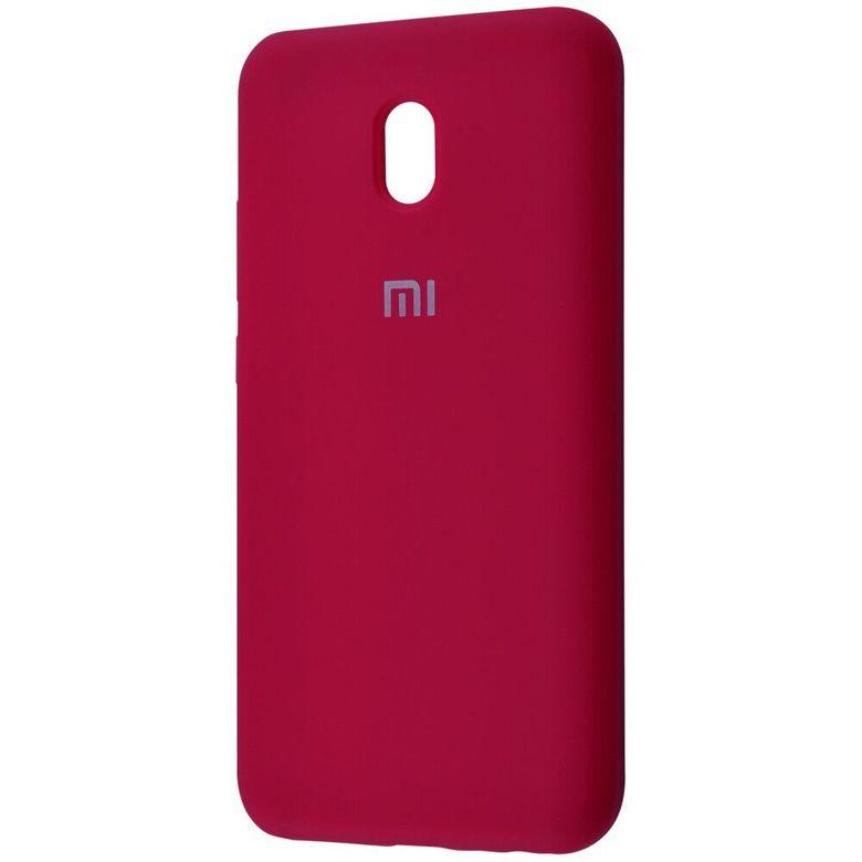 Чехол-бампер Xiaomi Silicone Cover для Xiaomi Redmi 7A Rose Red