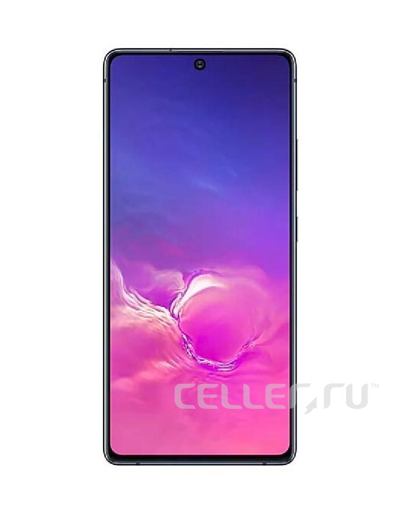Смартфон Samsung Galaxy S10 Lite 6/128GB Черный
