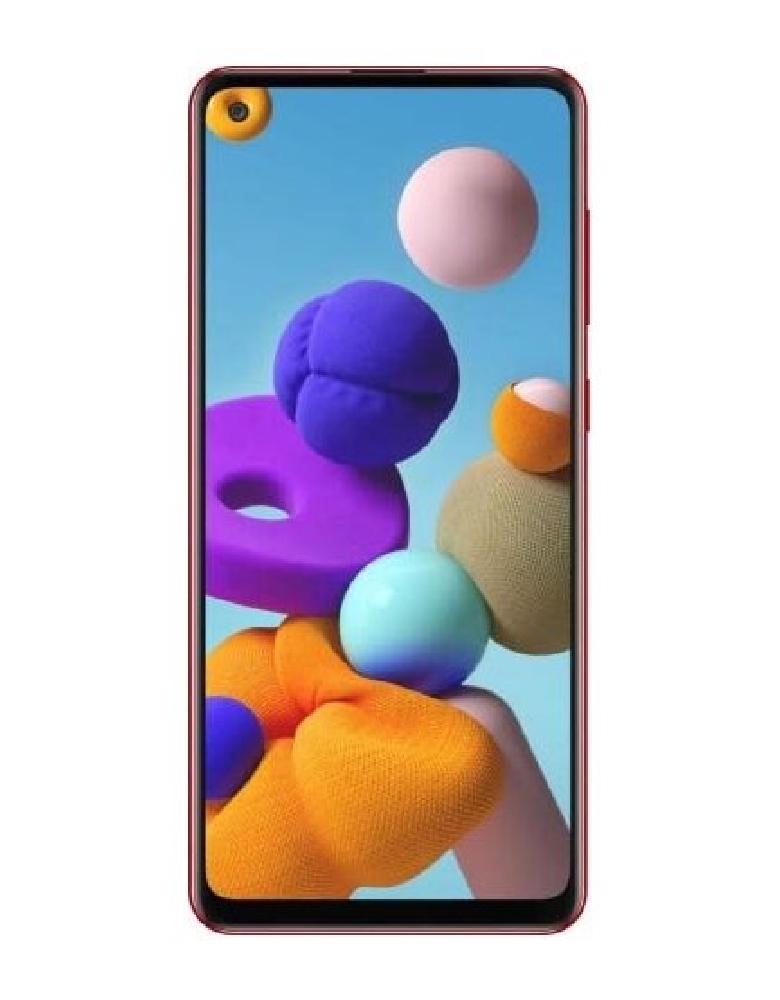 Смартфон Samsung Galaxy A21s 4/64GB красный