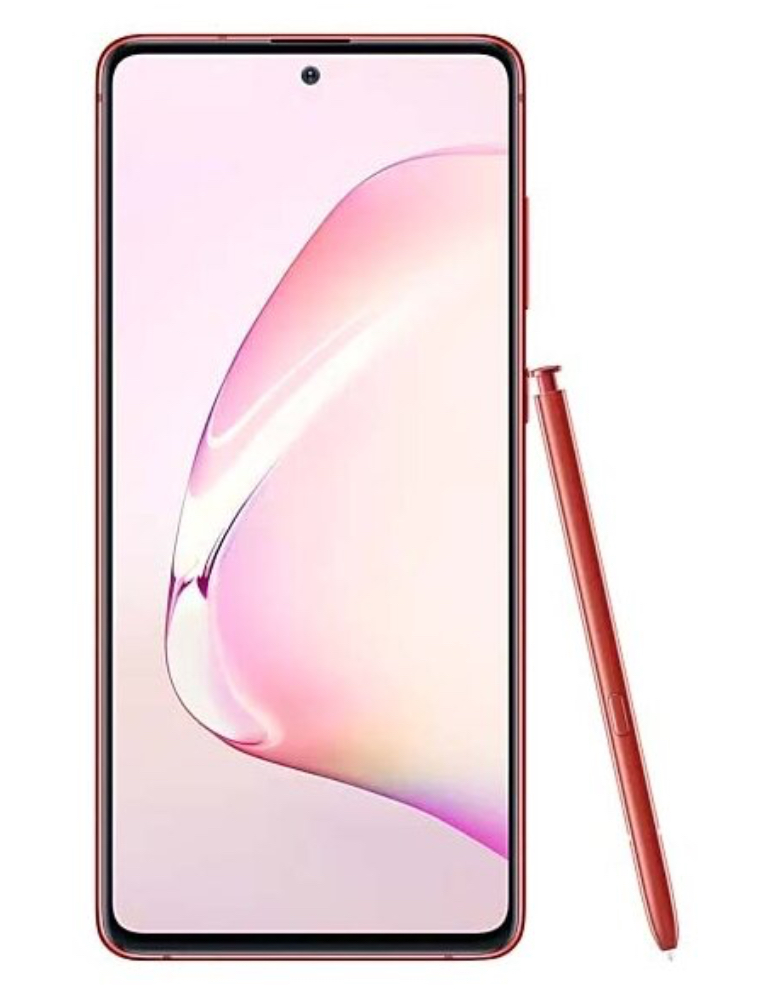 Смартфон Samsung Galaxy Note 10 Lite 6/128GB красный