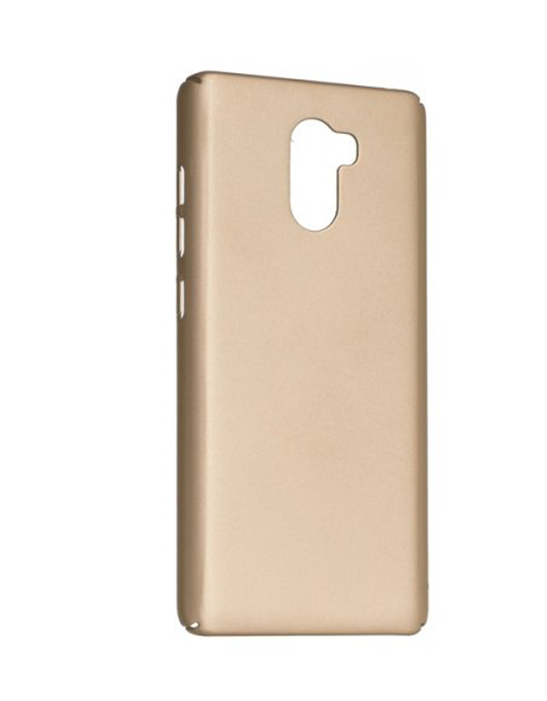 Чехол Xiaomi Note 4X пластик Soft touch Gold