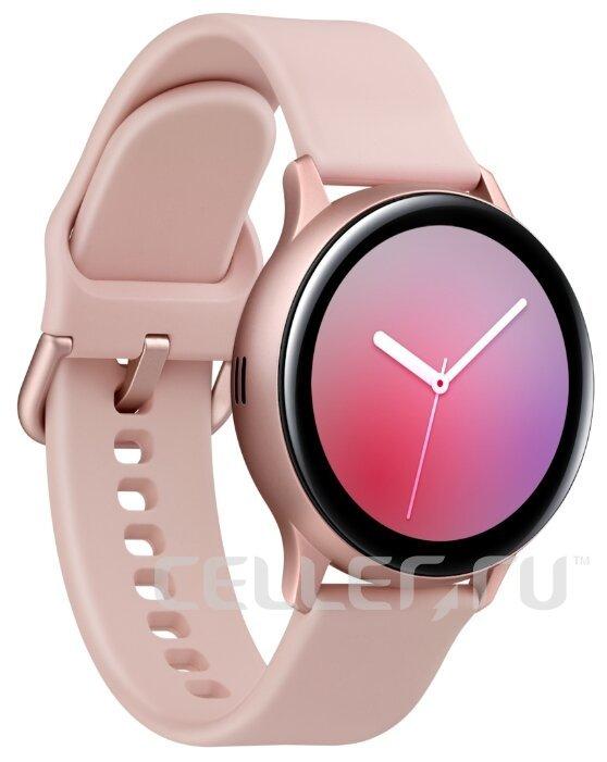 Часы Samsung Galaxy Watch Active2 алюминий 40 мм розовые