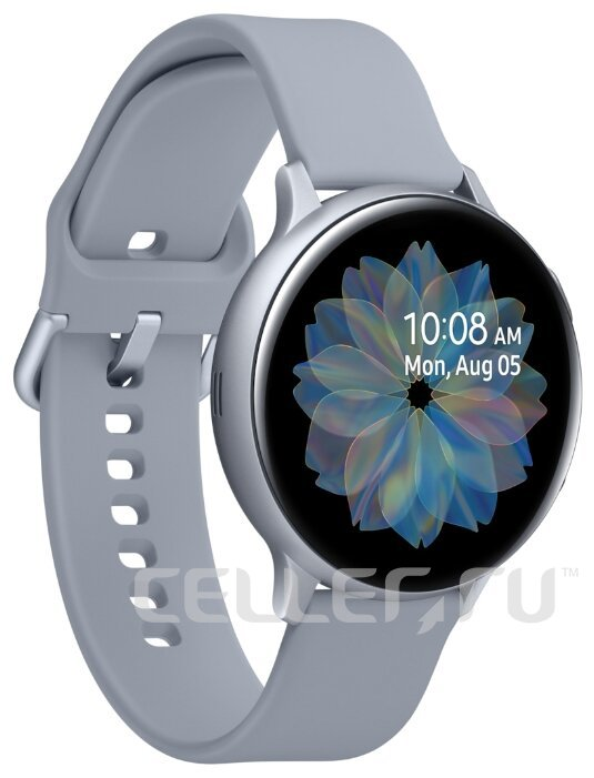 Часы Samsung Galaxy Watch Active2 алюминий 44 мм серебристые