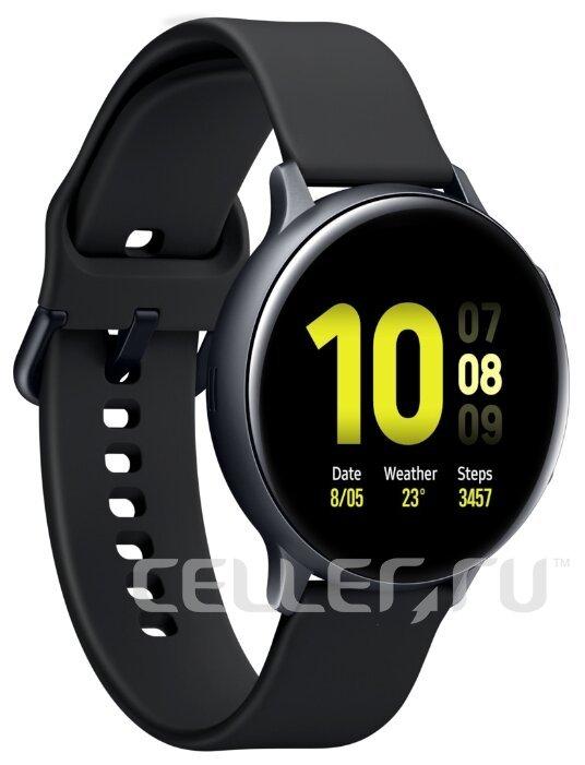 Часы Samsung Galaxy Watch Active2 алюминий 40 мм черные