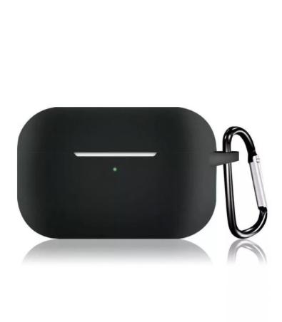 Силиконовый чехол для Apple AirPods Pro черный
