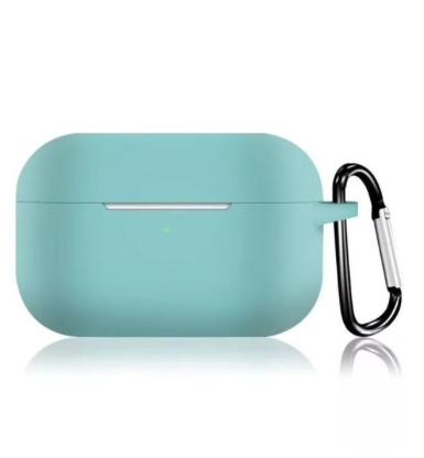 Силиконовый чехол для Apple AirPods Pro бирюзовый