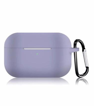 Силиконовый чехол для Apple AirPods Pro серый