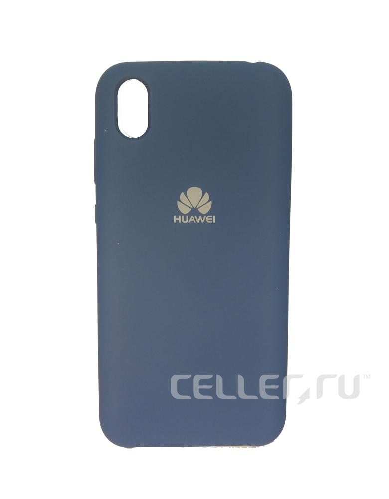 Чехол Silicone Cover для Huawei Y5 2019 / Honor 8S Темно-синий